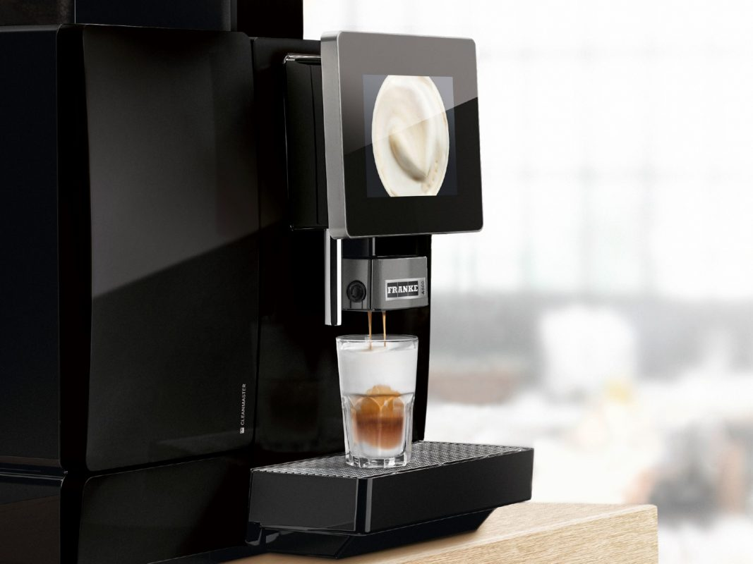 Franke A600 kaffemaskin til bedrift og kontor fra Kaffebryggeriet