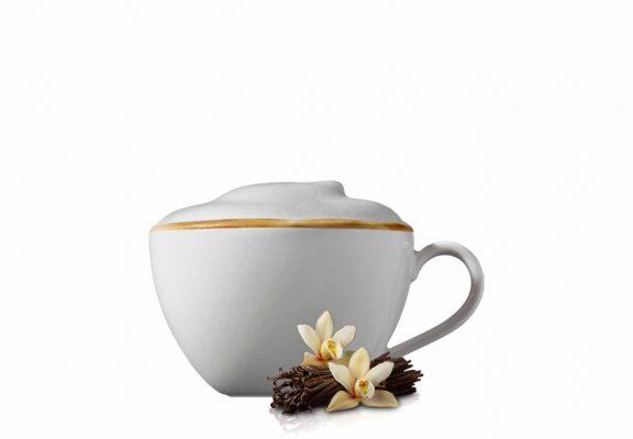 Cappuccino med vanilje