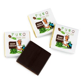 Puro Fairtrade Belgiske sjokoladebiter