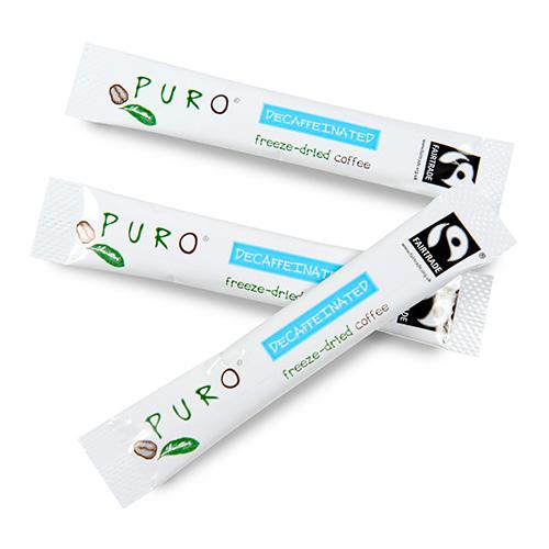 Puro Fairtrade Instant sticks decaf