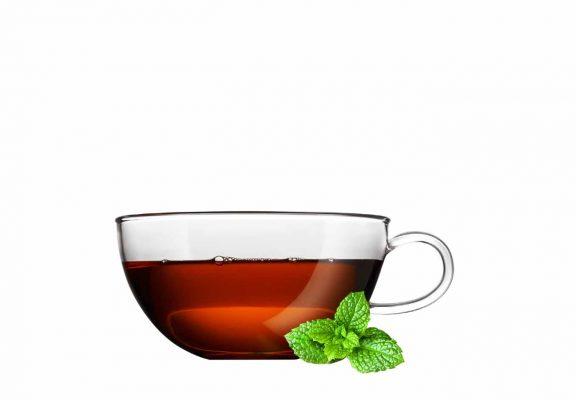 Te med mintblader