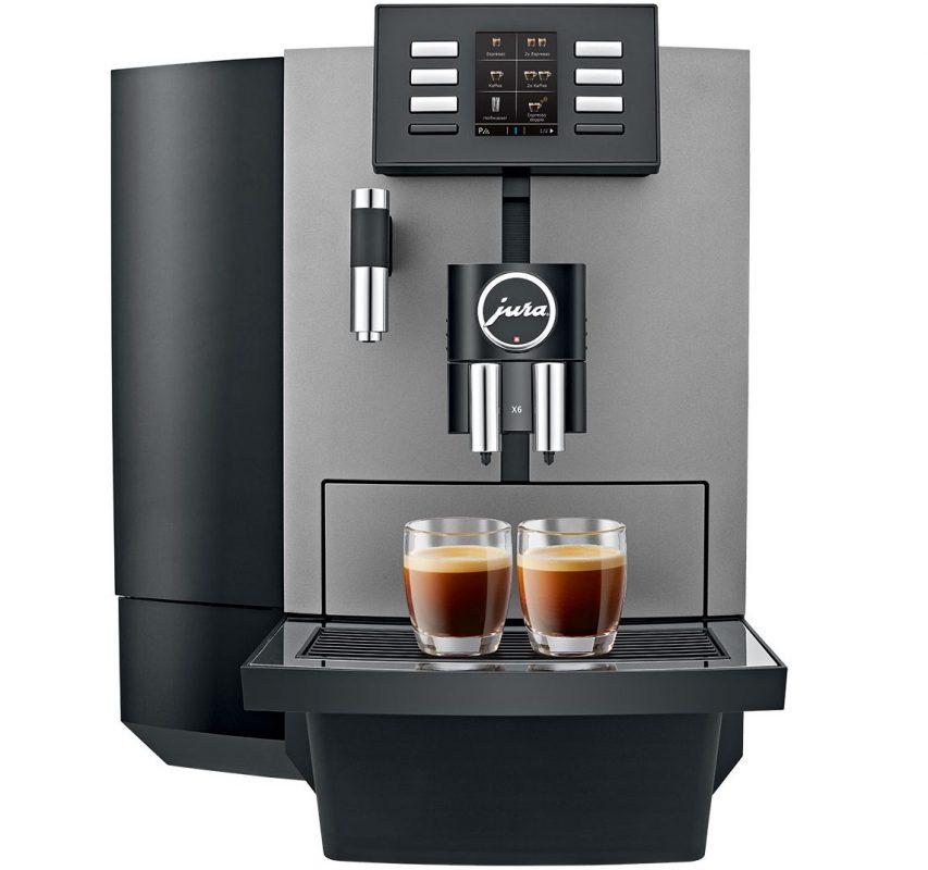 jura x6 kaffemaskin til lite kontor
