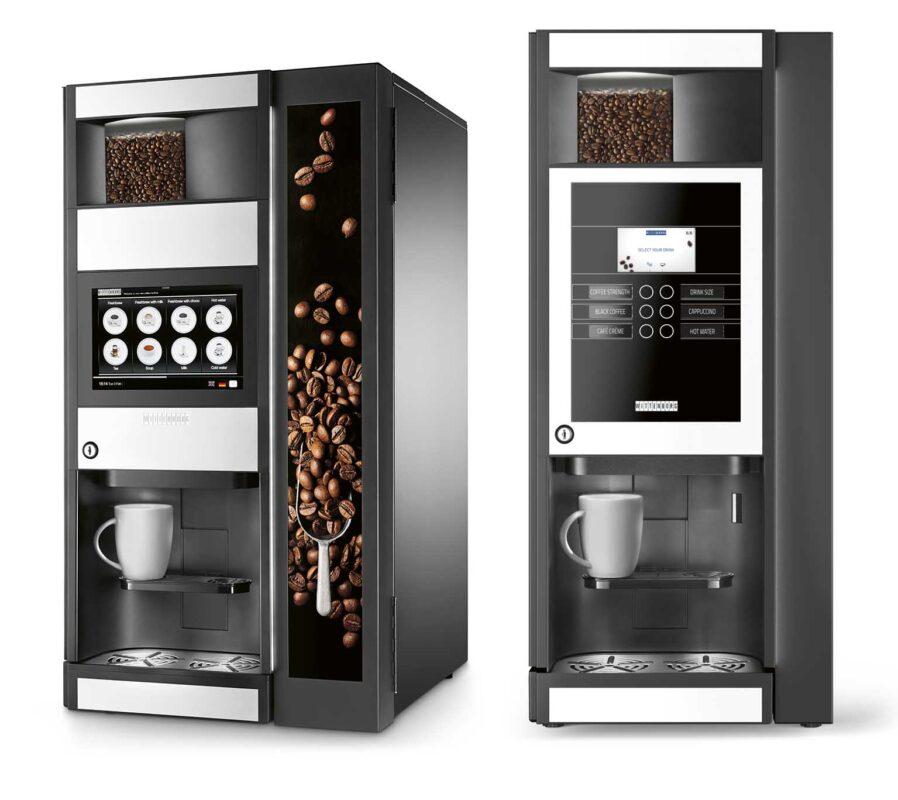 wittenborg 9100 og wittenborg 95 kaffemaskin til bedrift og kontor